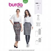 6370 Burda Pattern: Misses' Pencil Skirts